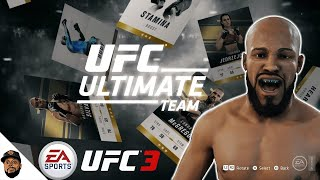 EA Sports UFC 3 BETA - CREATE A FIGHTER CARD FEATURE! ULTIMATE TEAM EP 3 (PS4 GAMEPLAY)