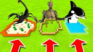 Minecraft PE : DO NOT CHOOSE THE WRONG FARM! (Scorpion, The Ents & Orca)
