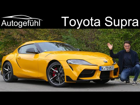 all-new Toyota Supra FULL REVIEW - how is it different from the BMW Z4 ?  Autogefühl
