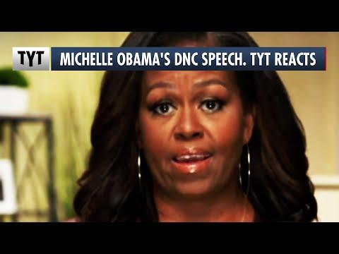 Michelle Obama's DNC Speech. TYT Reacts