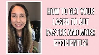 How to: Adjust Focus and Cut Faster with your Laser