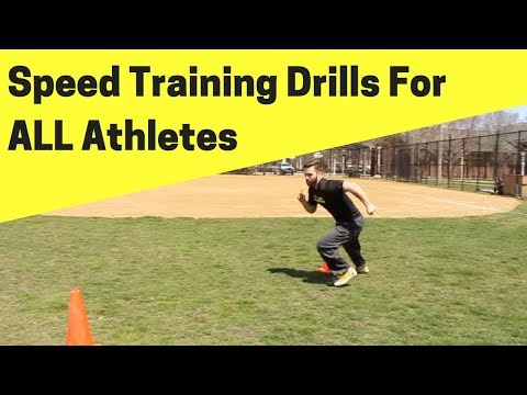 3 Speed Training Wide Receiver Drills That ALL Athletes Should Do ...