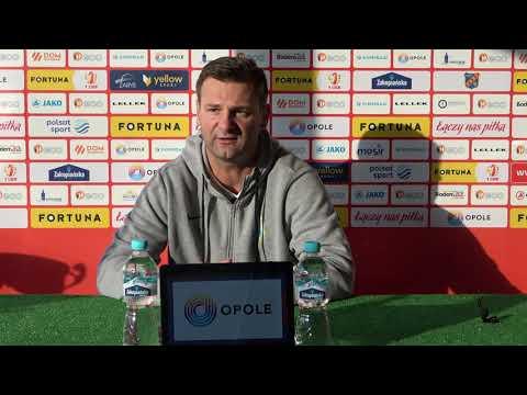 Trenerzy po meczu Odra Opole - Stomil Olsztyn 2:0