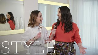 """Emilia Clarke's Beauty Routine: Her Eyebrow Rule, Tattoos And """"badass"""" Products She Can't Be Without"""