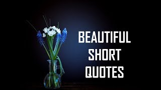 Beautiful Short Quotes | Life Lessons