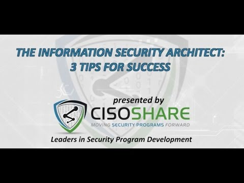 , title : 'The Information Security Architect| Top 3 Tips