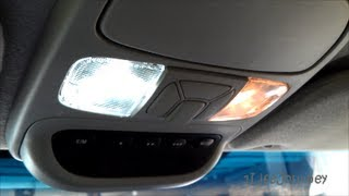 2004 Toyota Sienna - LED Map Light Bulb Install