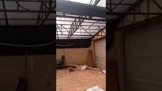 Pembongkaran Gedung di Gandaria Kebayoran Baru
