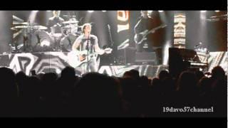 JAMES BLUNT (so long jimmy)@ brisbane 2011 ....... WITH LYRICS