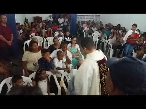Santa missa em Boa vista do bananal município de cristália mg!(15)