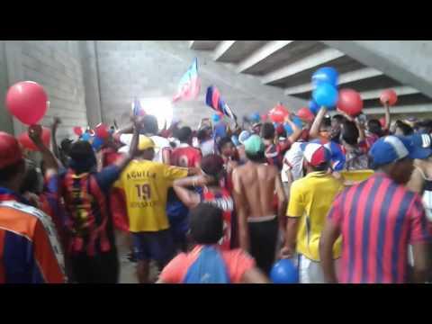 """""""Union Magdalena 3 Vs 4 Leones - Bajo Tribuna Garra Samaria Norte"""" Barra: Garra Samaria Norte • Club: Unión Magdalena"""
