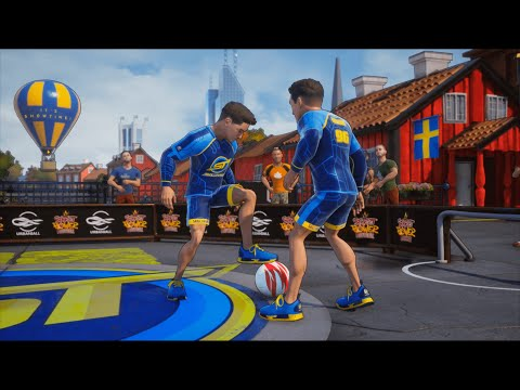 Play SkillTwins On PLAYSTATION/XBOX In A NEW Street Football Game!  ★