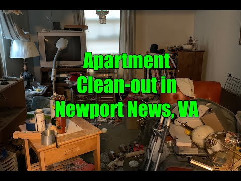 Apartment Clean-out in Newport News, VA