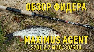 Удилище фидер maximus adventure 330h 3. 33m 60-120g