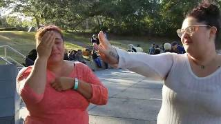 Naya Toledo Explaining How God Healed Her Blind Eye