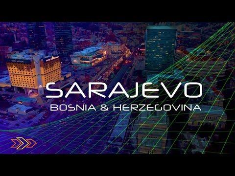 БОСНИЯ и ГЕРЦЕГОВИНА   Что смотреть в Сараево - Ферхадия, Латинский мост, Башчаршия