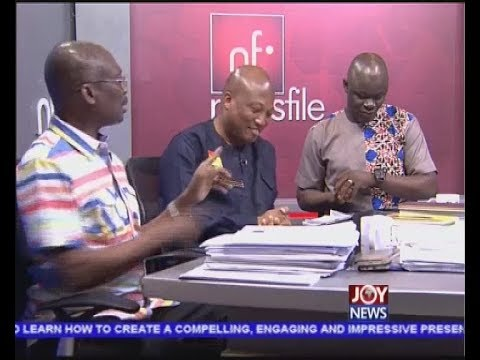Koku's 'Civil Coup' Comment PT2 - Newsfile on JoyNews (31-3-18)