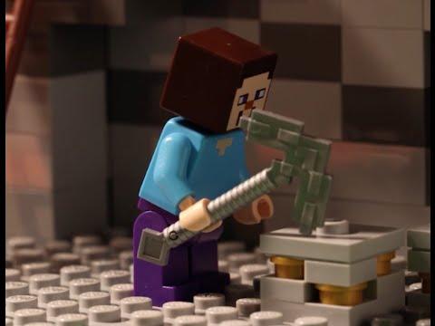 Vidéo LEGO Minecraft 21113 : La grotte