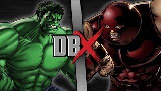 Hulk VS Juggernaut   DBX