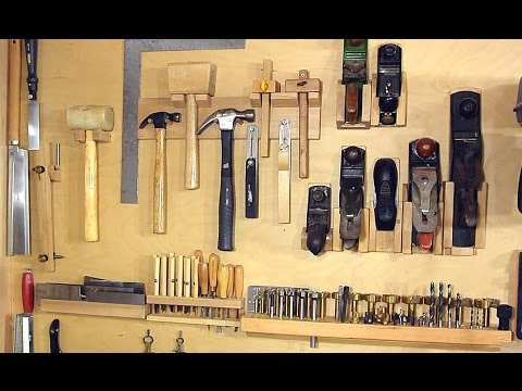 Organise Your Hand Tools With These Custom Built Wall