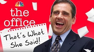 "Every ""That's What She Said"" Ever - The Office"