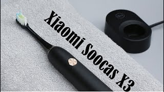 Зубная щётка Xiaomi Soocare Soocas X3 - Инновационный гаджет от Xiaomi