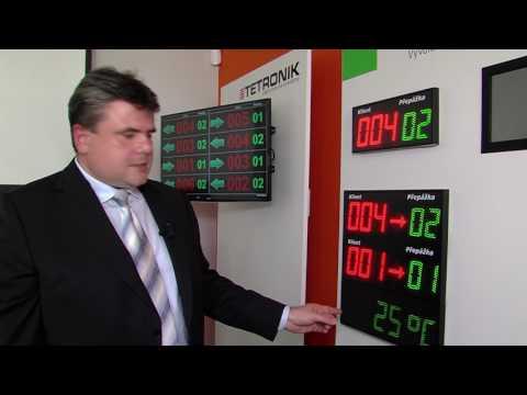 TETRONIK - český výrobce elektronických vyvolávacích a zobrazovacích zařízení