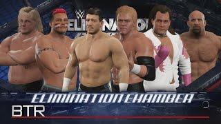 WWE 2K17: Legends DLC Pack Elimination Chamber Match
