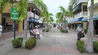 preview picture of video 'Arriving at the port of Bassetette in the two island country of Saint Kitts and Nevis'