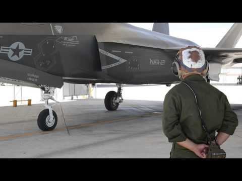 Green Knights lead the way with the F-35B