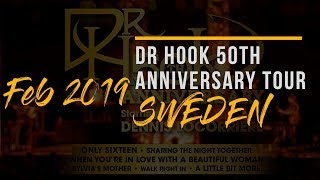 DR HOOK 50th Anniversary World Tour | Sweden 2019