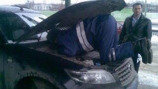 Полиция машина двойник, не верю
