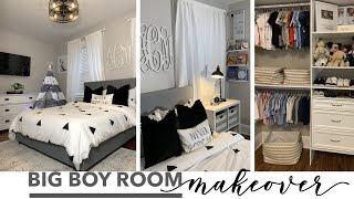 BEDROOM MAKEOVER | JAYDEN BIG BOY ROOM TOUR 2019