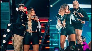 KAROL G & ANUEL AA cantan JUNTOS en Miami: Secreto, Culpables | Emmanuel World Tour 2019.