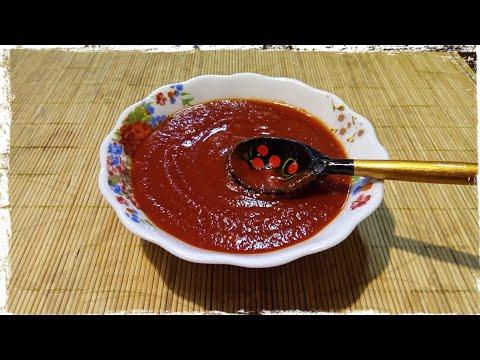 Томатный соус за 5 минут. Простой рецепт.