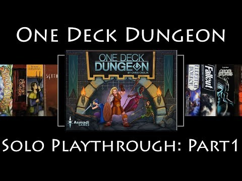 One Deck Dungeon: Rules Overview & Solo Playthrough - Part 1