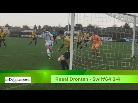 VIDEO | Reaal Dronten laat de kansen op 3-3 onbenut en verliest met 2-4 van Swift'64