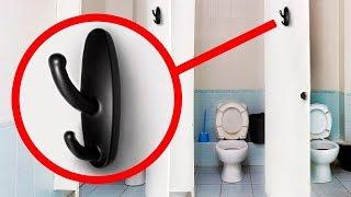 Если Увидите Это в Общественном Туалете, Сразу Вызывайте Полицию!