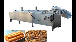 automatic onion chips frying machine manufacturer price