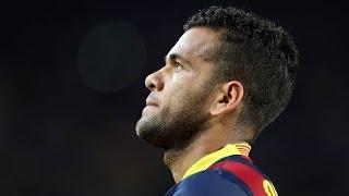 FC Barcelona: All Dani Alves' goals (2008-2016)