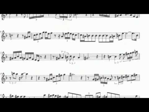 Charlie Parker -- All the Things You Are Transcribed Solo