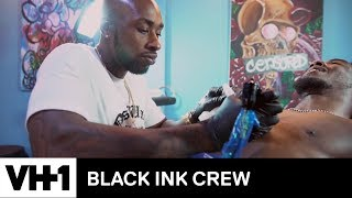 Ceaser Tattoos Desiigner & Talks About Bed-Stuy | Black Ink Crew