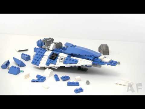 Vidéo LEGO Star Wars 8093 : Plo Koon's Jedi Starfighter