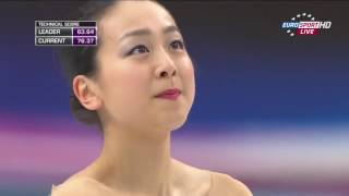 2014 Worlds   Ladies   LP   Mao Asada   Piano Concerto No  2 by Rachmaninoff