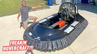 We Bought a Running and Flying HOVERCRAFT!!!! (it's a ripper)