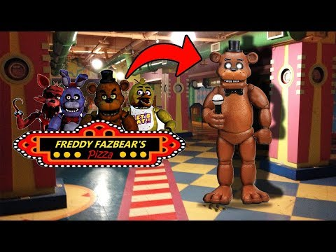 DONT GO TO FREDDY FAZBEARS PIZZERIA OVERNIGHT OR FREDDY FAZBEAR.EXE WILL APPEAR | ANIMATRONICS ALIVE