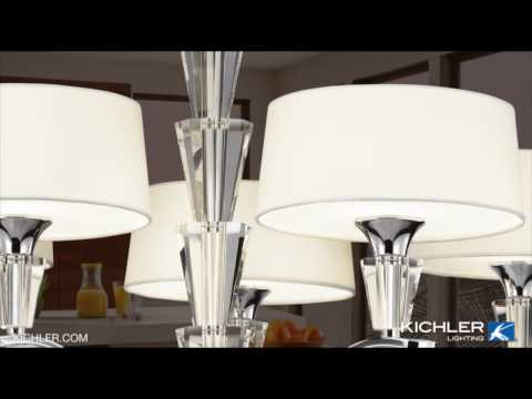 Video for Crystal Persuasion Chrome Five-Light Mini Chandelier