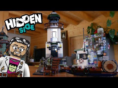 Vidéo LEGO Hidden Side 70431 : Le phare des ténèbres