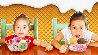МОРОЖЕНОЕ из Случайных Ингредиентов ЧЕЛЛЕНДЖ Попробуй съесть!