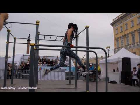 workout St  Petersburg song Jennifer Lopez - On The Floor ft. Pitbull